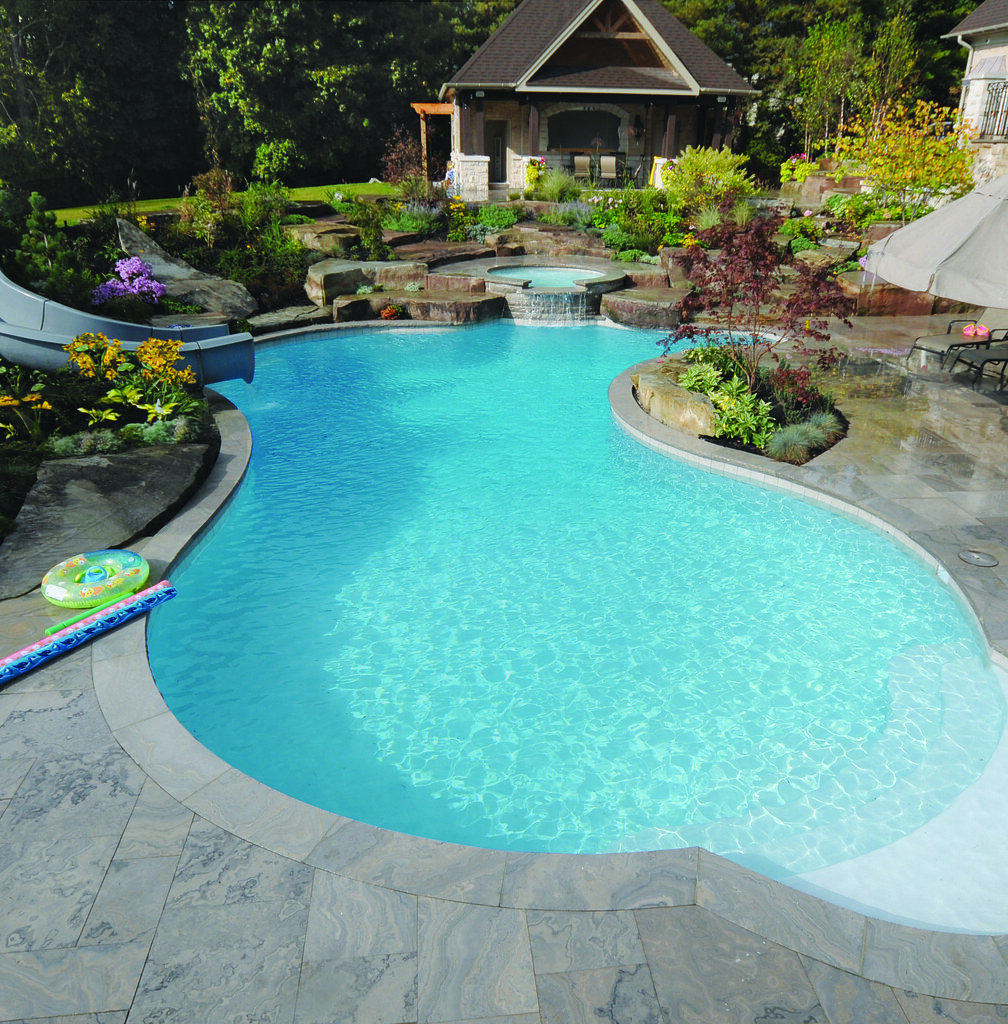 Visio Swimming Pool Design : Gib san pools freeform family pool