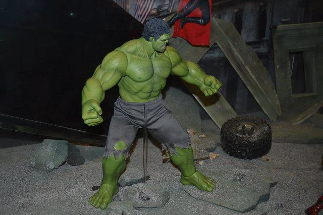 Ani-com coverage  Hot Toys The Avengers  HulkThe Avengers Hulk Toys