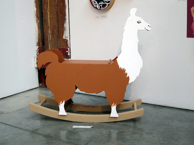 Llama Rocking Chair Flickr Photo Sharing