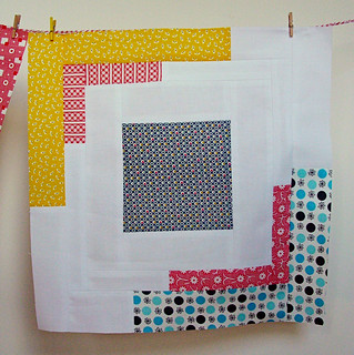 July converging corners block 2 | by greenleaf goods