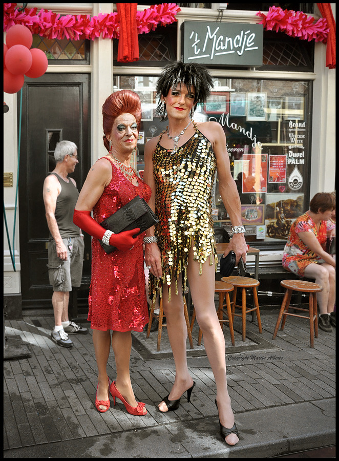 Creative Portrait Of Drag Queen. Man Dressed As Woman Stock Photo - Image 27665920