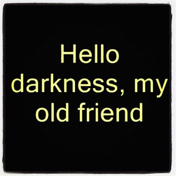 darkness be my friend free pdf