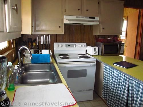 Kitchen area in Blue Heaven 108 Raleigh Street, Holden Beach, North Carolina