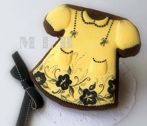 baby dress cookie | by My_ little_bakery