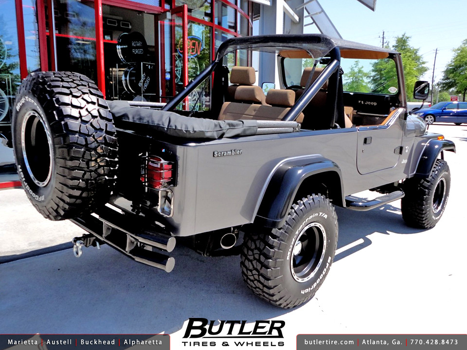 All Terrain Tires >> Jeep Scrambler with 15in American Eagle 185 Wheels and 33i ...