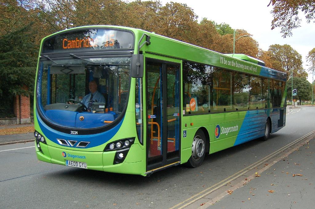 Stagecoach Volvo B7rle 21224 Ae09gyu Cambridge