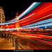 Westminster Light Show London Bus [Explored #211]