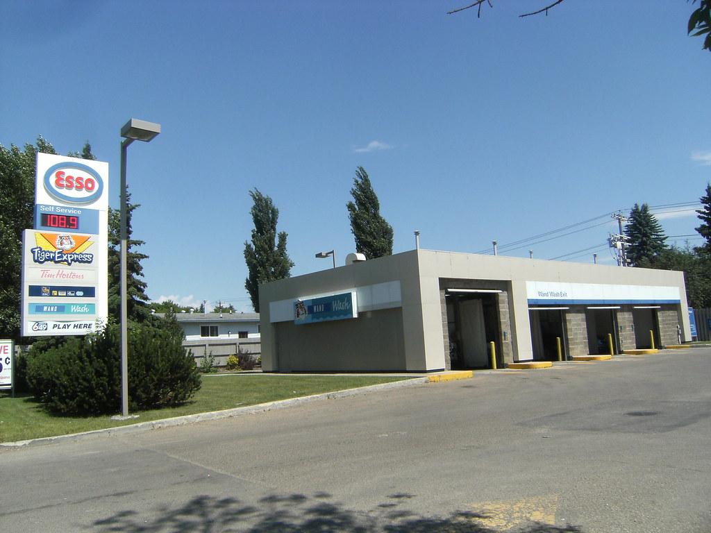 Esso Car Wash Edmonton