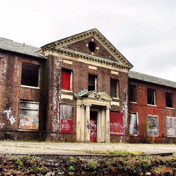 #building #abandoned #yonkers #ny #newyork #mobilephotogra