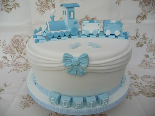 Train Christening Cake Flickr Photo Sharing