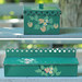 vintage painted boxes