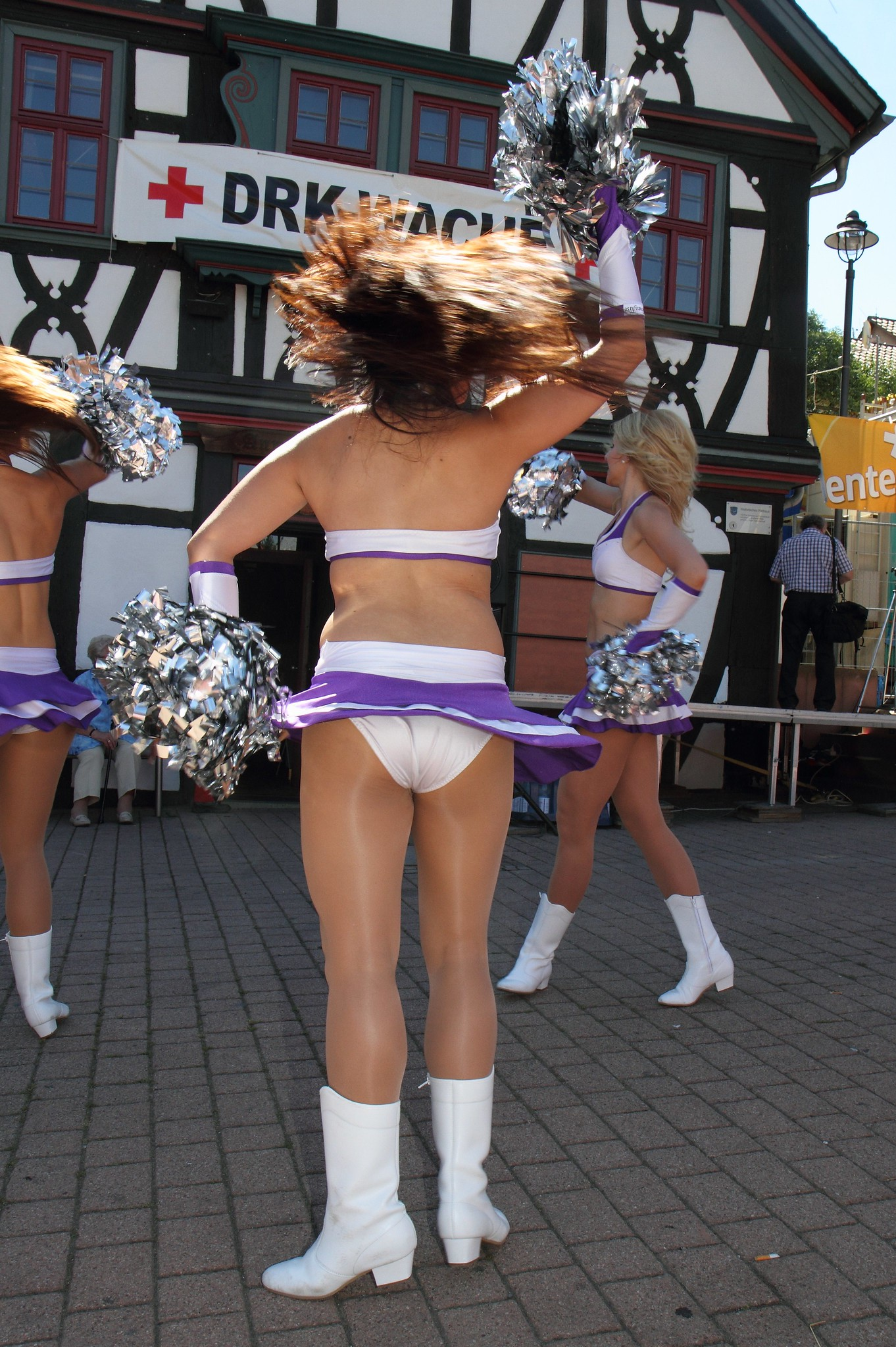 CheerLeader pantyhose audio just
