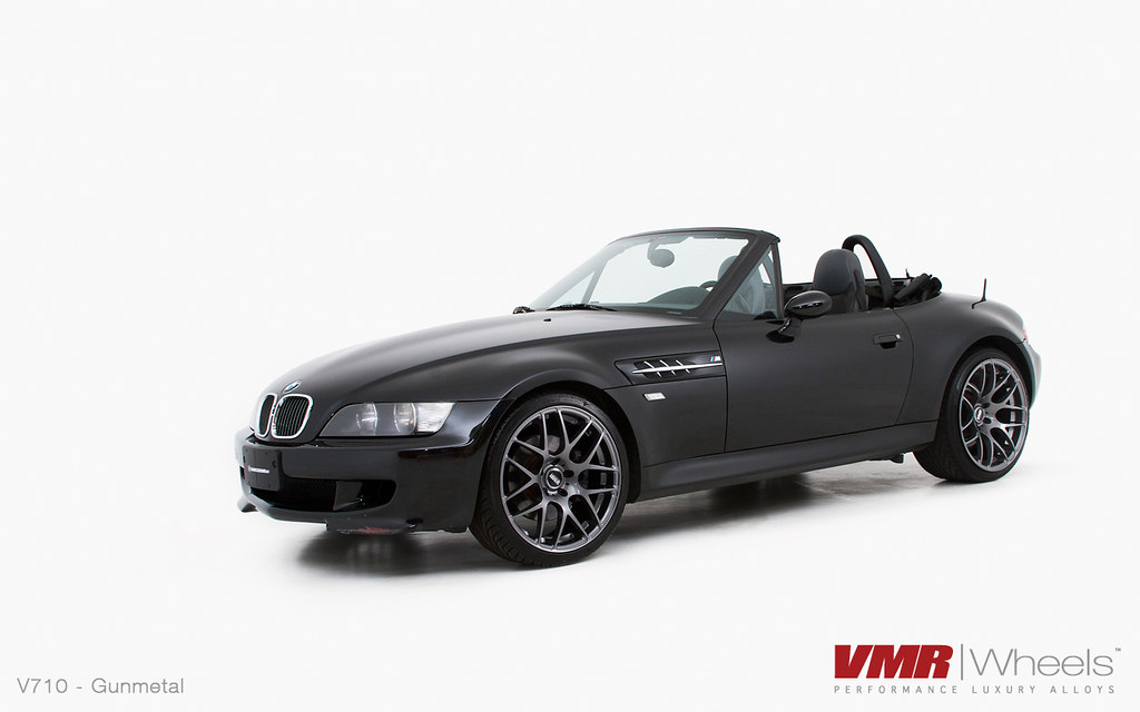 Vmr Wheels 19 Quot Gunmetal V710 On Jet Black Bmw Z3 M Coupe