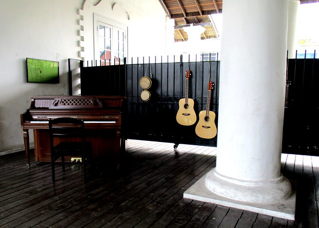 Old Courthouse, music corner