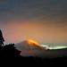 Mt Taranaki at sunset