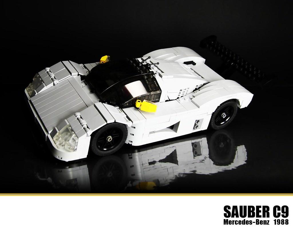 Lego mercedes benz sauber c9 the sauber c9 later named for Lego mercedes benz