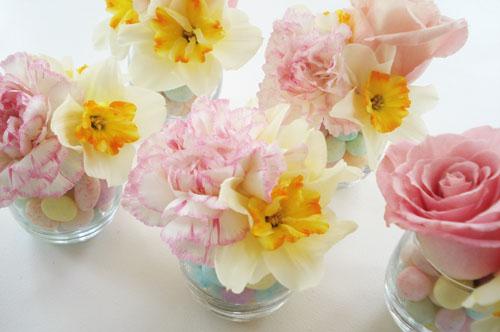 Easter Flower Centerpieces Pretty