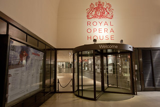 Entrance to Royal Opera House from the Piazza © ROH 2012 | by Royal Opera House Covent Garden