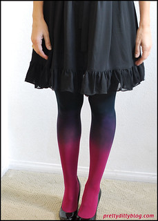DIY Ombre Tights | by Pretty Ditty
