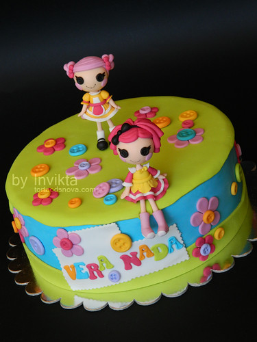 Lalaloopsy birthday cake for twins  Flickr - Photo Sharing!