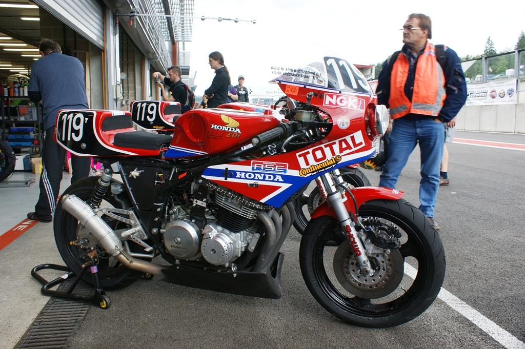 Honda RS1000 (Bol d'Or Club Classic endurance Team Germany… | Flickr