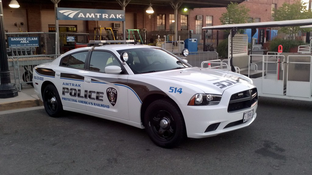 Amtrak Police 514 This New Dodge Charger Has A New