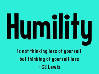 Humility Quote C. S. Lewis