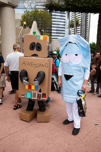 Awesome-O and Towelie | by uncle_shoggoth