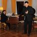 Tony Pappano and Aleksandrs Antonenko perform at the Verdi Syndicate launch © ROH 2012