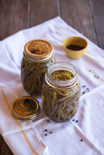Fagiolini Sottolio - Green beans preserved in olive oil | by Juls1981