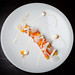 Mezcal-cured ocean trout with cream cheese, orange, and sal de gusanos 07