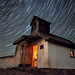 Star Trails over Austrian Church