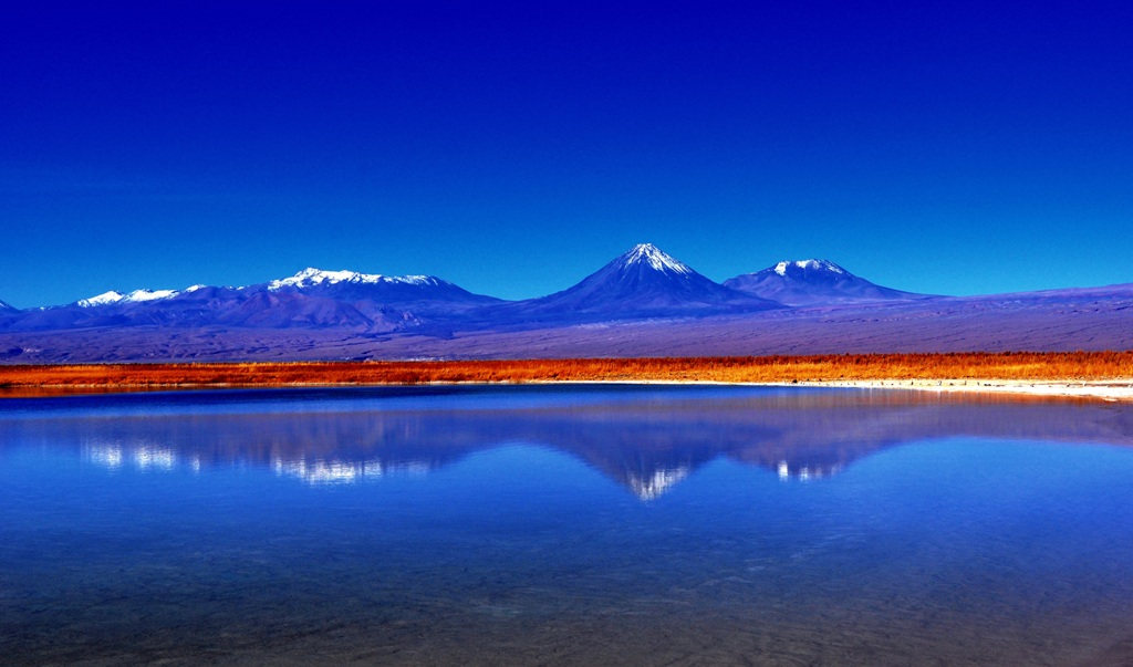 Atacama desert and The Andes... pretty awesome landscapes ...