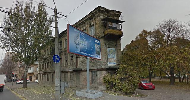 Дом в руинах