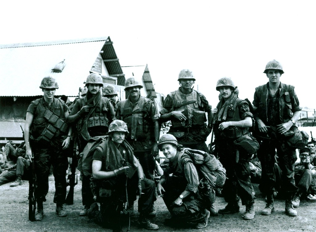h co  2d battalion  5th marines officers  march 1969