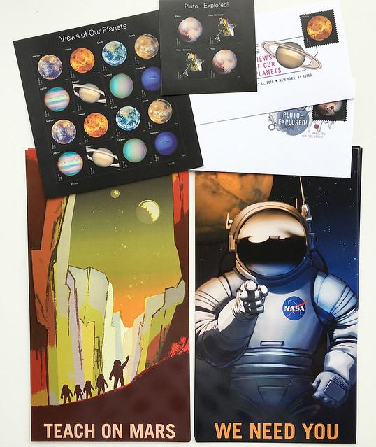 Space nerd swap parcel