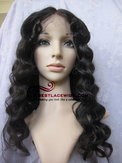 Sw074 Full Lace Wigs Silk Top Chinese Virgin Body Wave 38