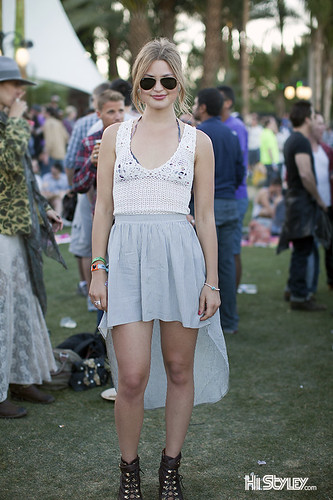 HiStyley | Jennifer Åkerman  - Coachella Street style #440 | by HiStyley