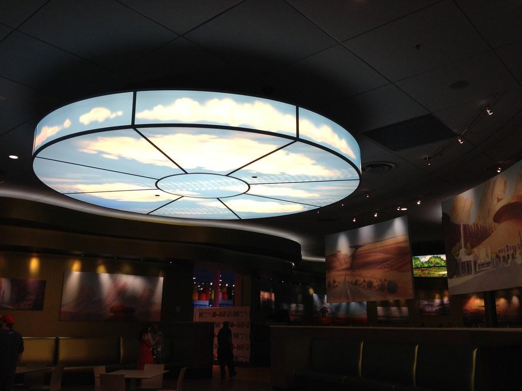 Disney Art Of Animation Food Court