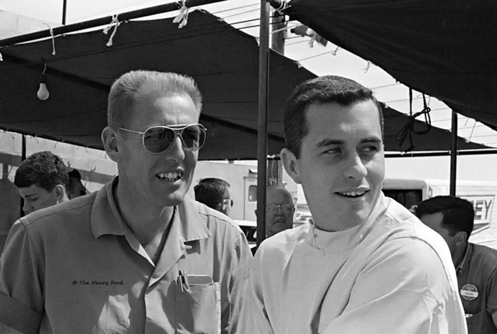 Roger Penske At Sebring 1963 A Very Young Roger Penske