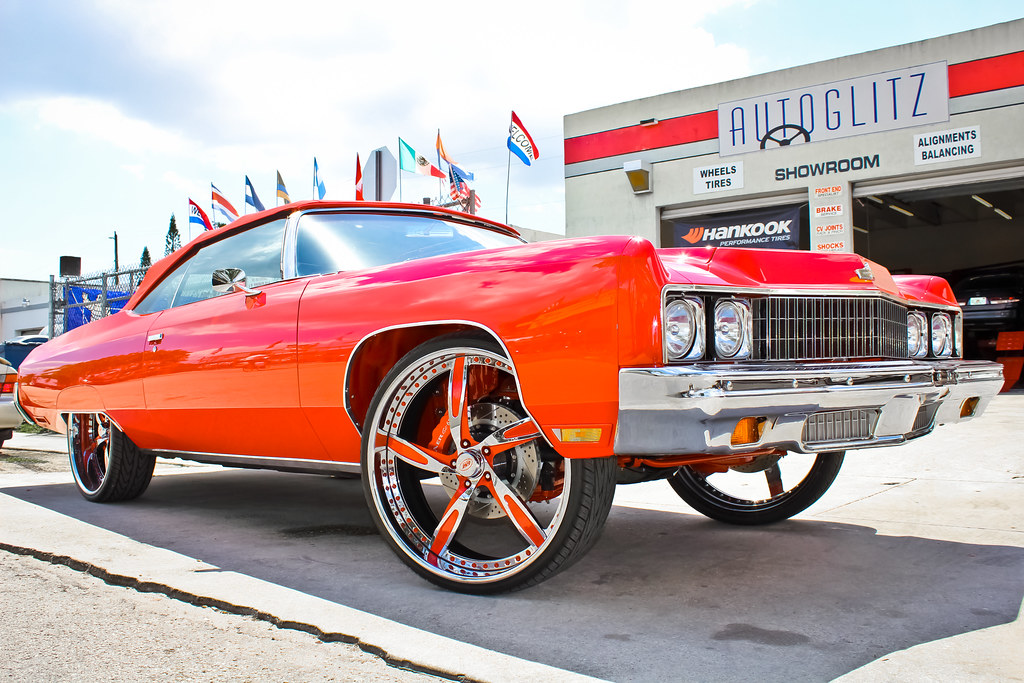 Rick Ross 1973 Impala | Car was perfectly done by GSE ...