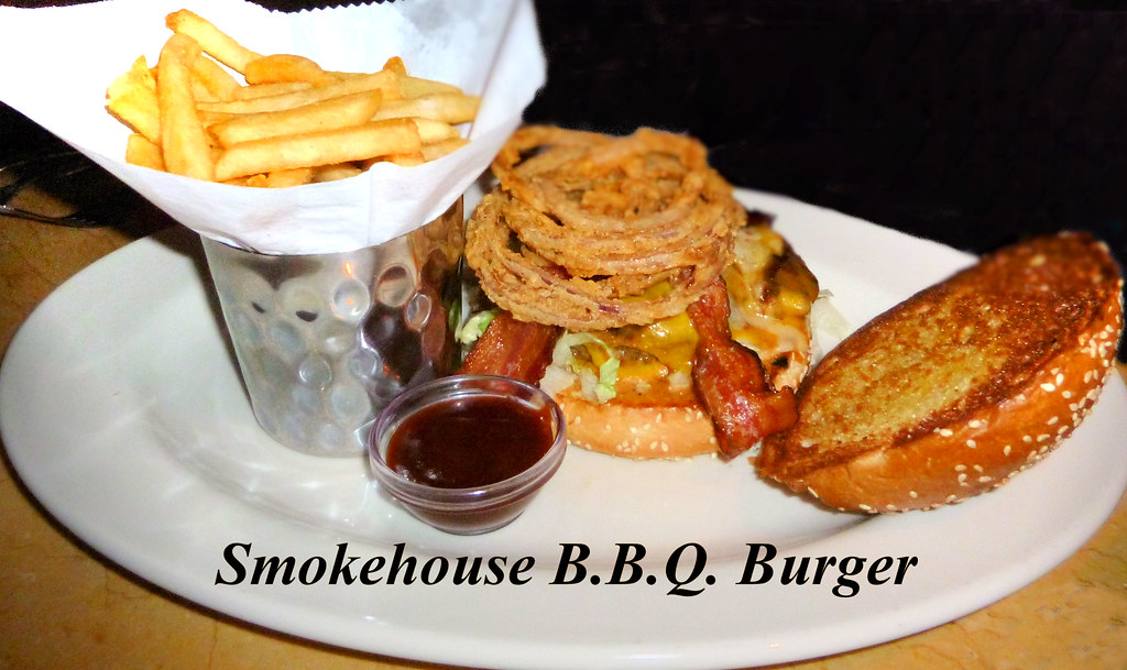 smokehouse b b q burger cheesecake factory 39 s smokehouse b flickr. Black Bedroom Furniture Sets. Home Design Ideas