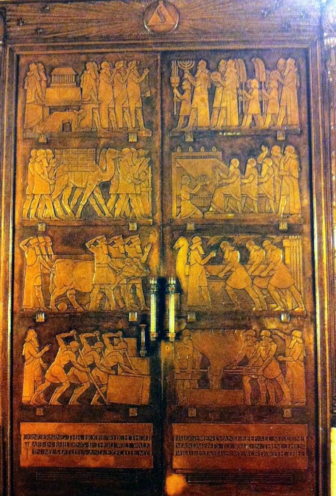 Door of Grand Temple a...