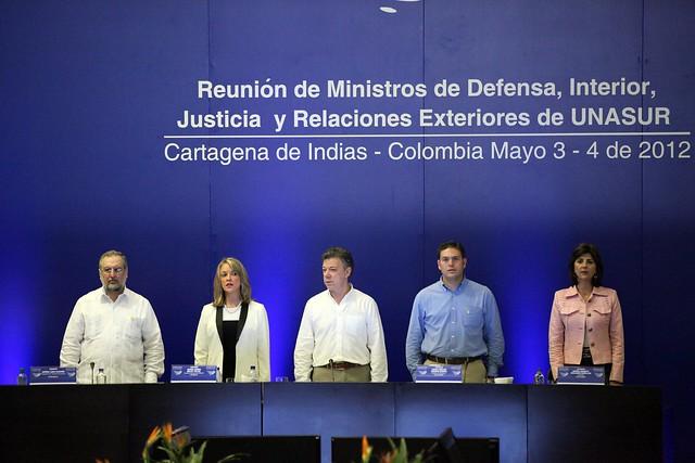 Reuni n de ministros de defensa interior justicia y for Logo del ministerio de interior y justicia