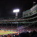 Fenway Facade on a chilly night
