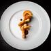 Shrimp, crispy masa, sea urchin mousse 04