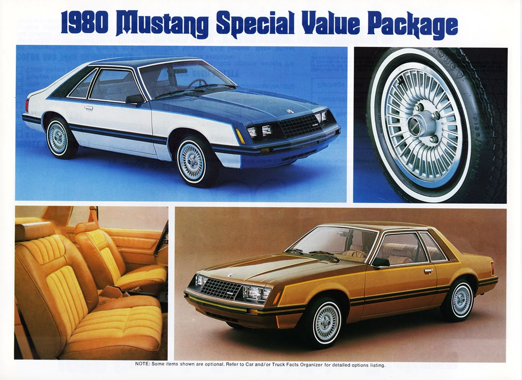 1980 ford mustang special value package