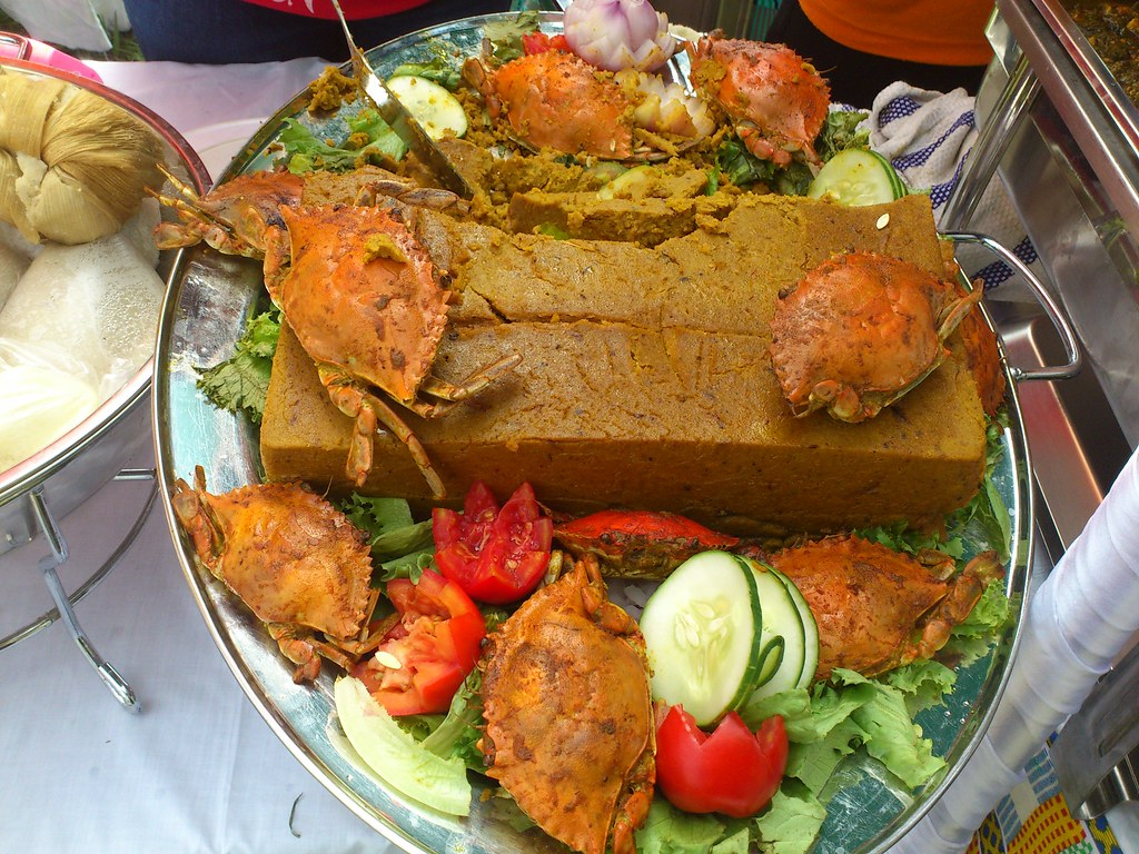 Apapransa traditional ghanaian food papjeff flickr for Authentic african cuisine from ghana