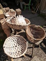 oak swill baskets