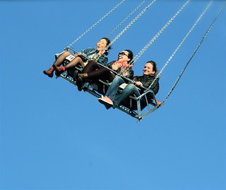 boston revere fair people on swing | by photographynatalia